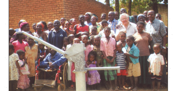 Maple Ridge Times: Haney club opens taps in Africa image