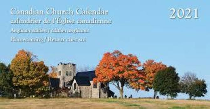 Church Calendars Now on Sale image