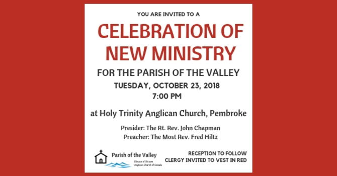 Celebration of New Ministry image