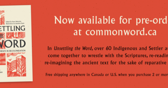 "Book Launch - ""Unsettling the Word"""