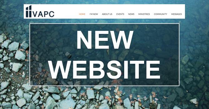 New Website for VAPC image