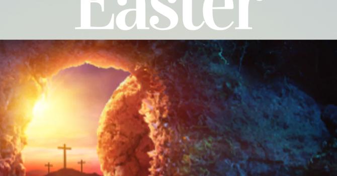Easter Sunday Service - April 12, 2020 image