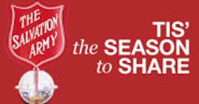 Needed:   St. A's Salvation Army Christmas Kettle Week Coordinator image