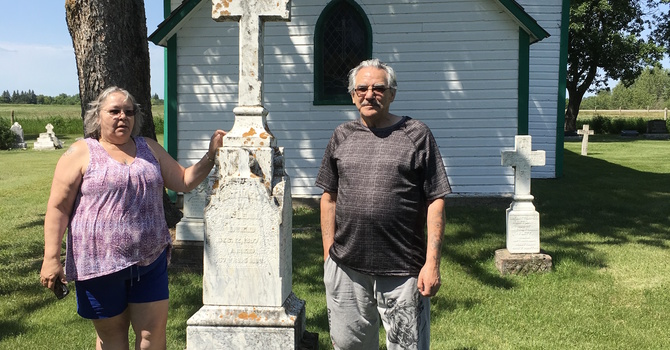 Great-grandson of Bp. McLean visits Diocese image