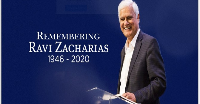 Remembering Ravi Zacharias image