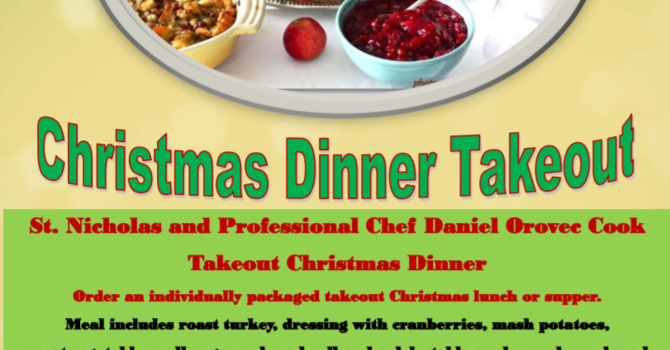 Takeout Christmas Dinner