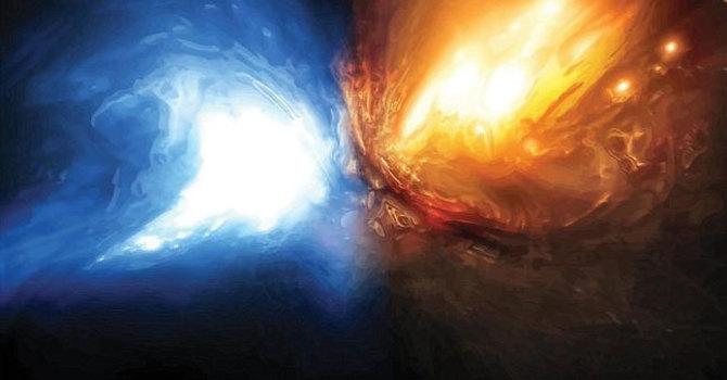 Genesis 1:1-3 and John 1: 1-14 image