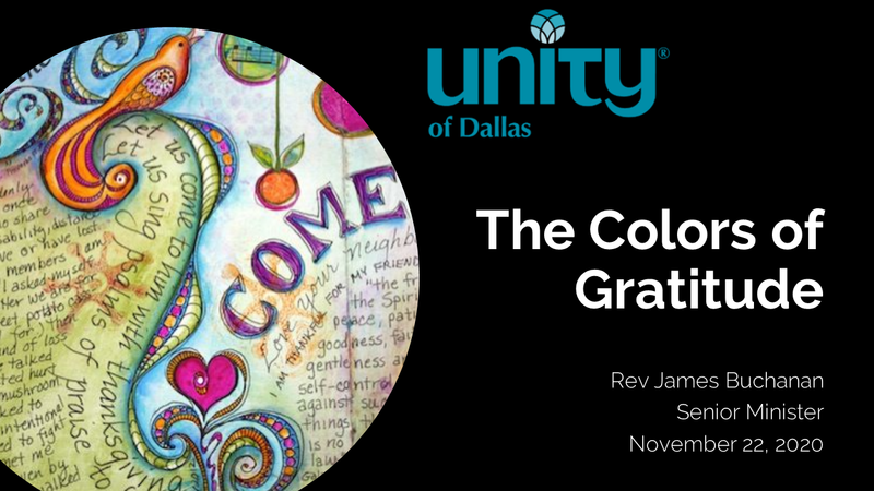 Colors of Gratitude