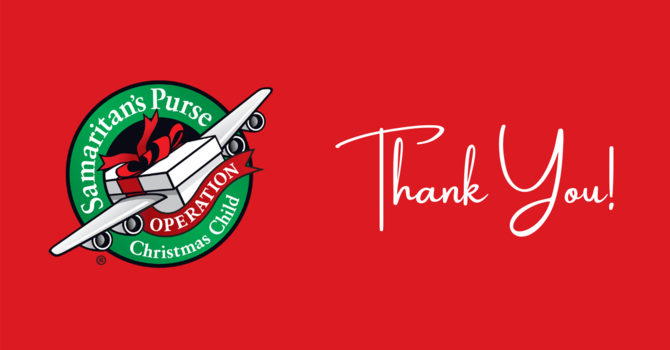 Thank You From Operation Christmas Child image