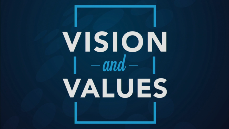 Vision and Values - Creative & Collaborative