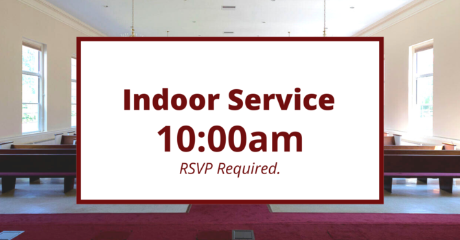 Indoor Worship Service