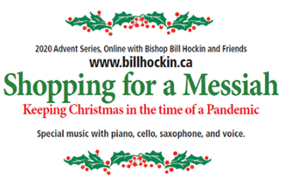 Shopping for a Messiah - begins Monday!