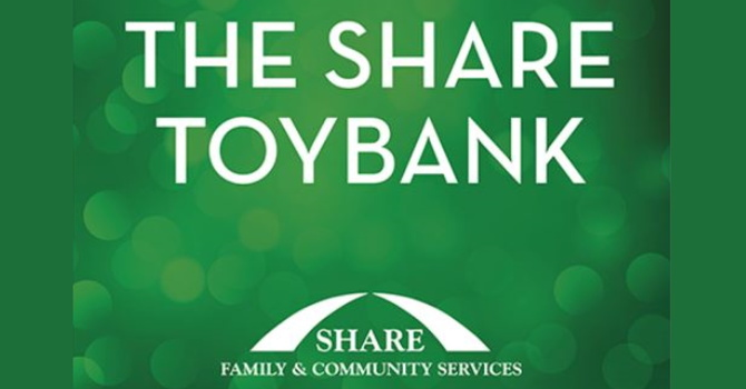 SHARE Food and Toy Drives image