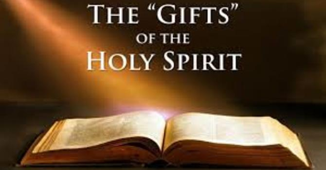 Gifts of the Holy Spirit image