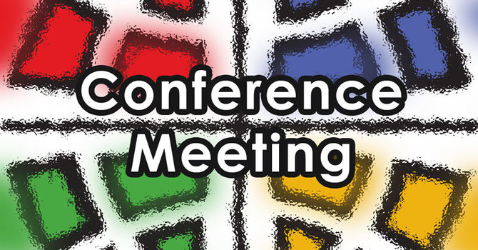 West Conference meeting