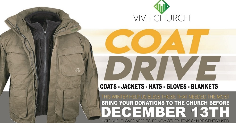 Coat Drive at VIVE