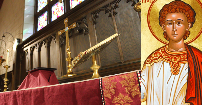 Eucharist: Feast of St. Stephen the Martyr