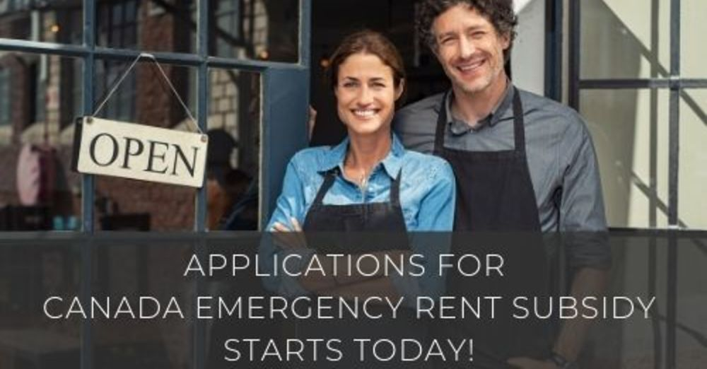 Applications for the new Canada Emergency Rent Subsidy starts today!
