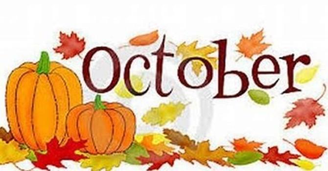 October 2020 Newsletter image