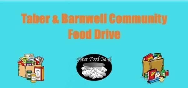Taber & Barnwell Community Food Drive
