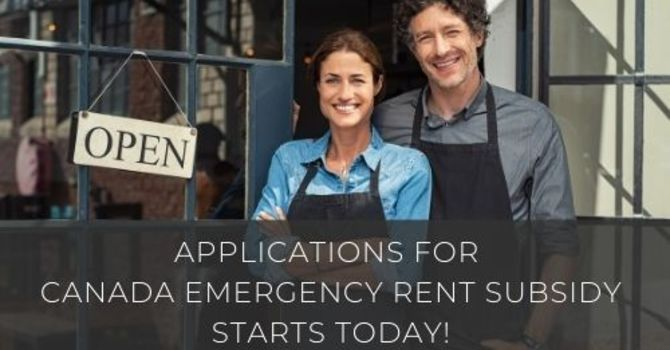 Applications for the new Canada Emergency Rent Subsidy starts today! image