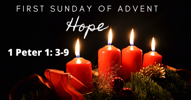 First Sunday of Advent: Hope