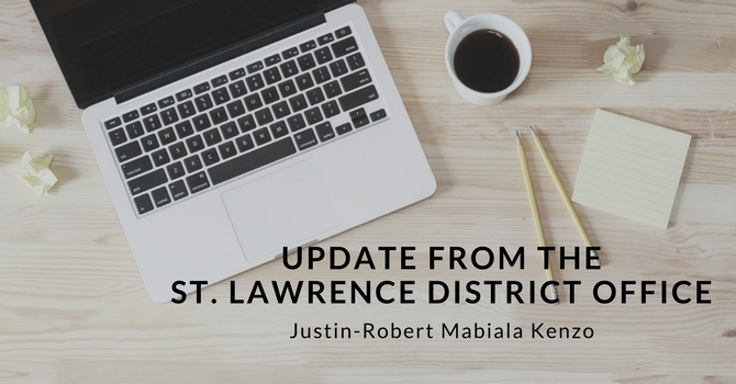 Update from the St. Lawrence District Office image