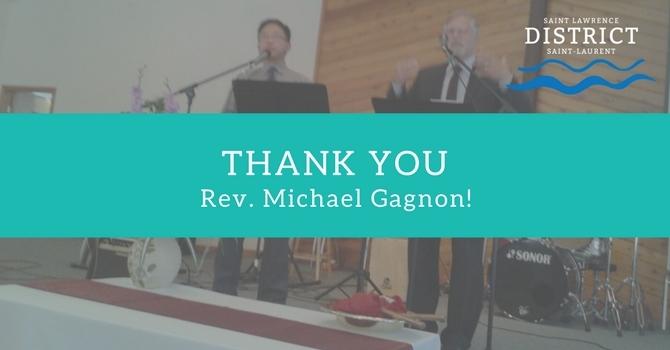 Thank You, Rev. Michael Gagnon! image