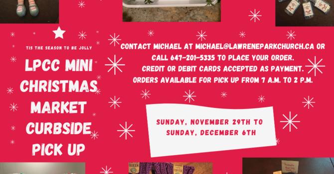 Christmas Mini Market Curbside Pick Up