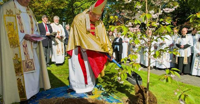 Synod 2012 Opening Worship and Tree Planting image