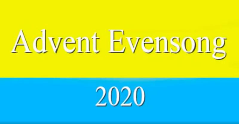 St. John's Advent Evensong 2020