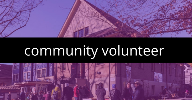 COMMUNITY VOLUNTEER
