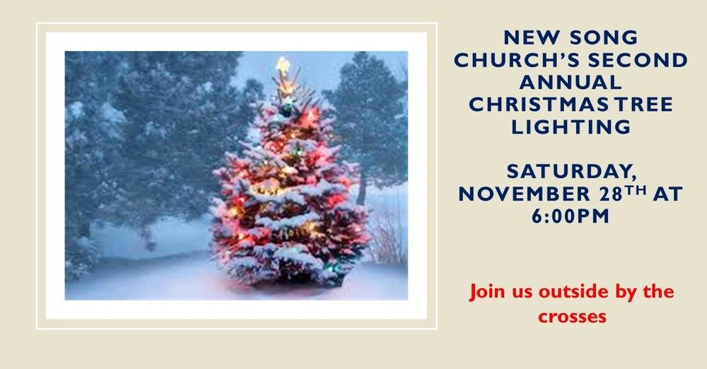 New Song Church Christmas Tree Lighting