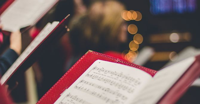 An invitation to join our choir image