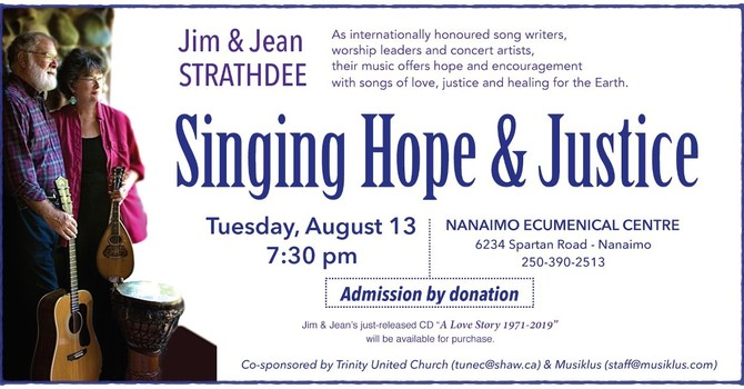 Singing Hope and Justice image