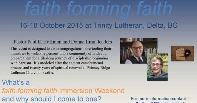 faith.forming.faith  - Immersion Weekend