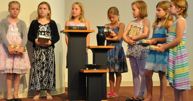 Children Given Bibles image