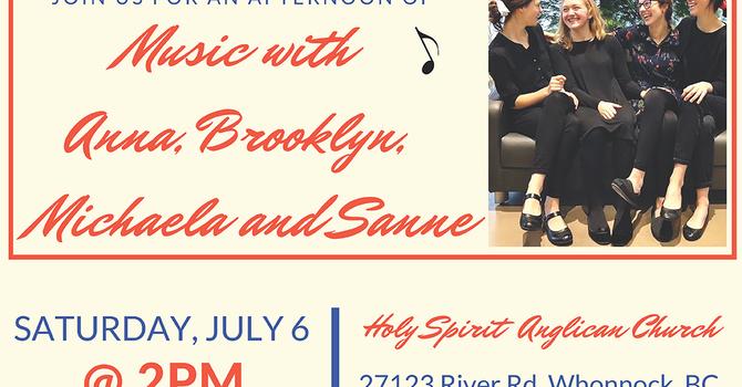 Music With Anna, Brooklyn, Michaela and Sanne