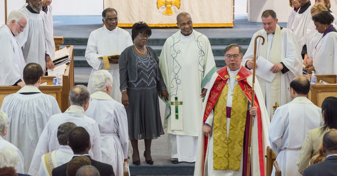 Rev. Vernon's Ordination image