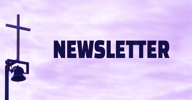 December 2020 Newsletter image