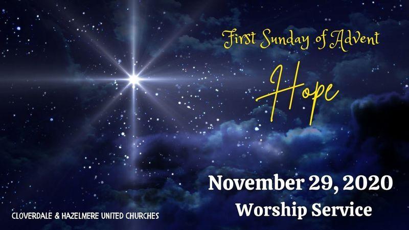 Advent(1) - Hope