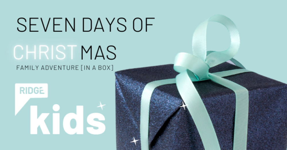 FAMILY ADVENTURE BOXES | 7 Days of Christmas