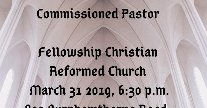 Ordination Service for Mark Broadus image