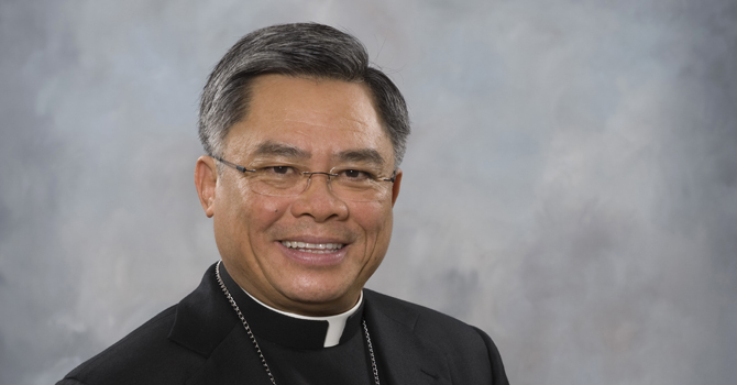 Letter from Bishop Joseph Nguyen