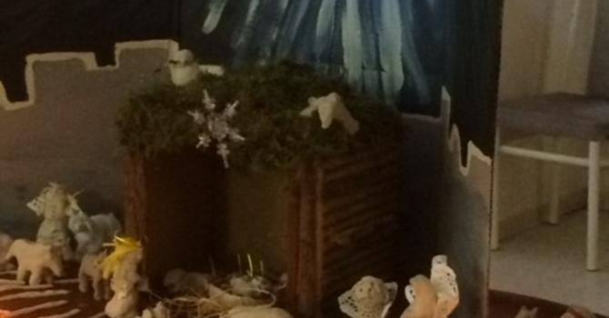 A Clay Nativity image