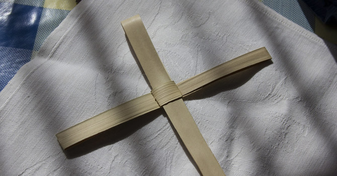 Palm Sunday crosses available image