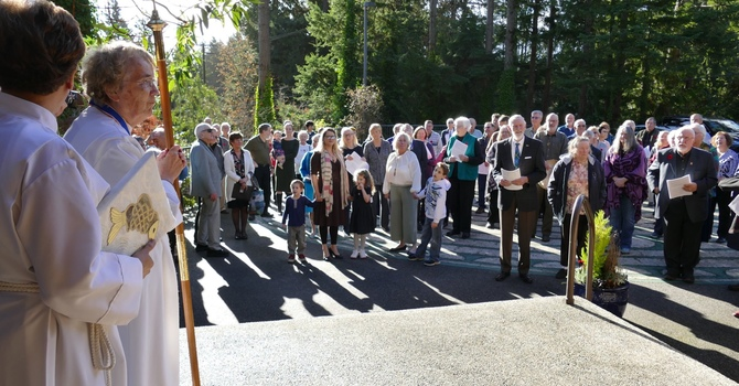 Re-dedication of the Sanctuary  in Pictures and video image