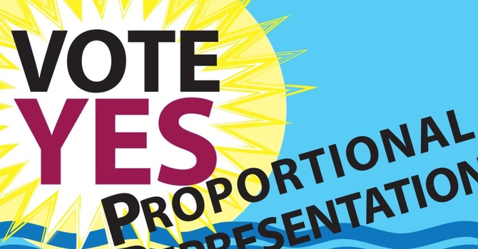 Vote Yes for Proportional Representation image