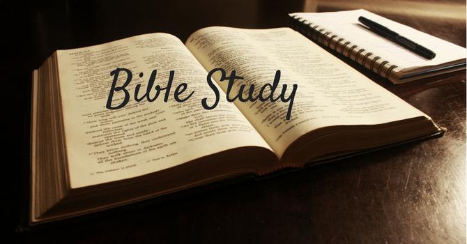 Bible Study time change image