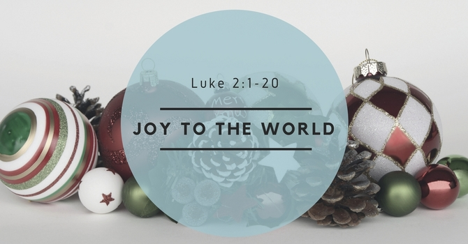 Joy to the World! image